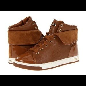 Michael Kors urban folder high tops